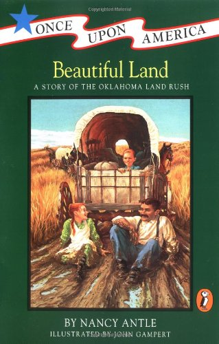 9780140368086: Beautiful Land: A Story of the Oklahoma Land Rush (Once upon America)
