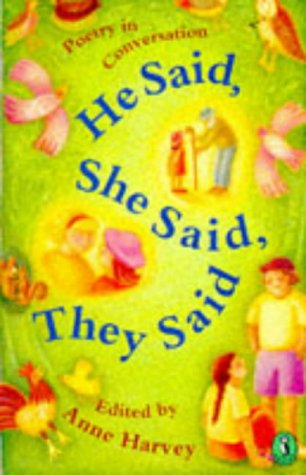 9780140368123: He Said, She Said, They Said: Poetry in Conversation (Puffin poetry)