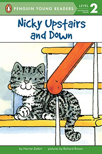 9780140368529: Nicky Upstairs and Down (Puffin Easy-to-Read, Level 1)