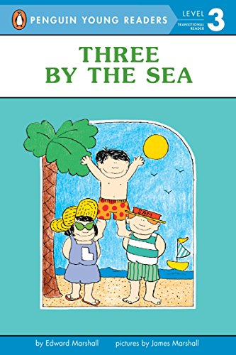 9780140370041: Three by the Sea (Puffin easy-to-read)