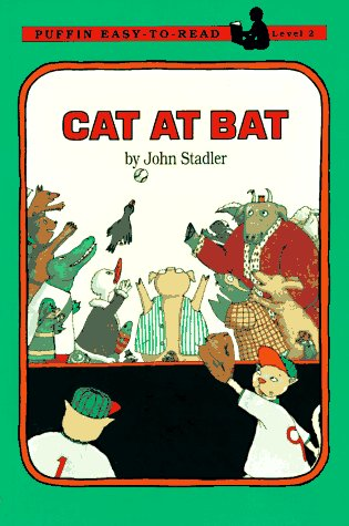 9780140370058: Cat at Bat (Puffin easy-to-read)