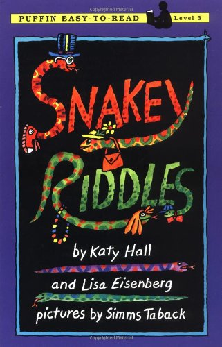 9780140371413: Snakey Riddles: Level 3 (Puffin Easy-to-Read)