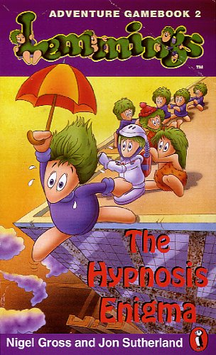 9780140373523: Lemmings Adventure Gamebook: Hypnosis Enigma Bk. 2 (Puffin adventure gamebooks)