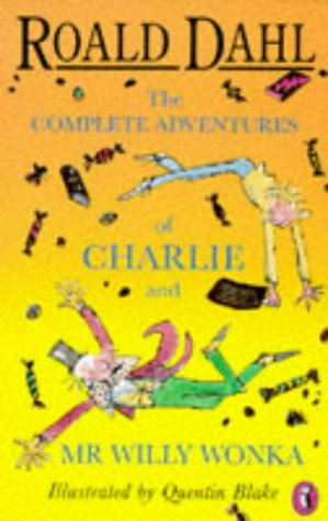 9780140373622: The Complete Adventures of Charlie and Mr.Willy Wonka (English and Spanish Edition)