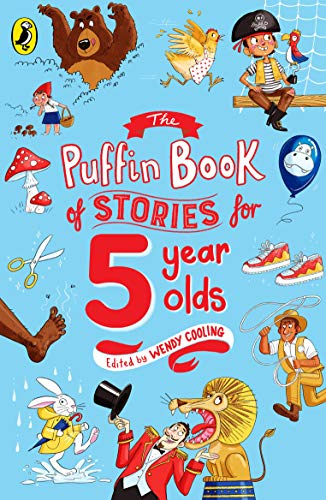 9780140374582: The Puffin Book of Stories for Five-year-olds
