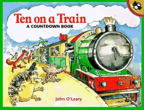 9780140375275: Ten on a Train: A Countdown Book (Picture Puffins)