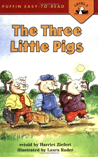 The Three Little Pigs: Level 2 (Easy-to-Read, Puffin)