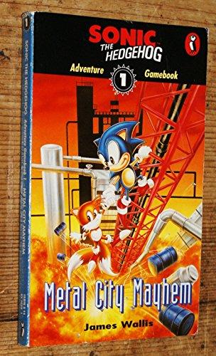 9780140376296: Sonic Adventure Gamebook: Metal City Mayhem Bk. 1 (Puffin Adventure Gamebooks)