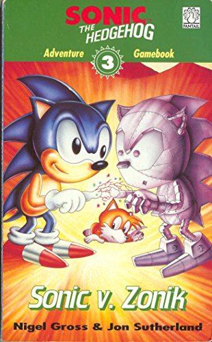 9780140376319: Sonic Adventure Gamebook: Sonic v Zonik Bk. 3 (Puffin adventure gamebooks)
