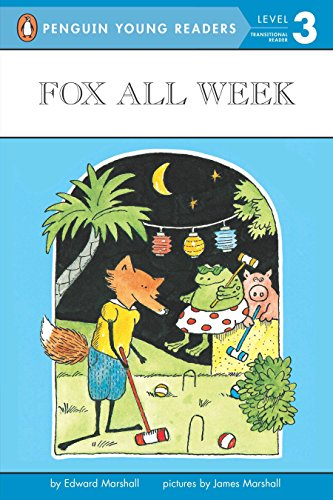 9780140377088: Fox All Week: Level 3 (Penguin Young Readers. Level 3)