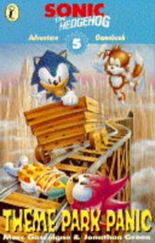 9780140378474: Sonic Adventure Gamebook: Theme Park Panic Bk. 5 (Puffin adventure gamebooks)