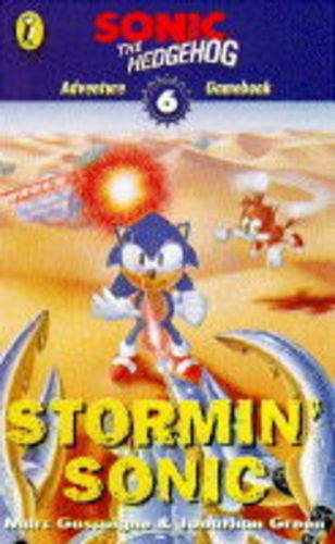9780140378481: Sonic Adventure Gamebook: Stormin' Sonic Bk. 6 (Puffin adventure gamebooks)