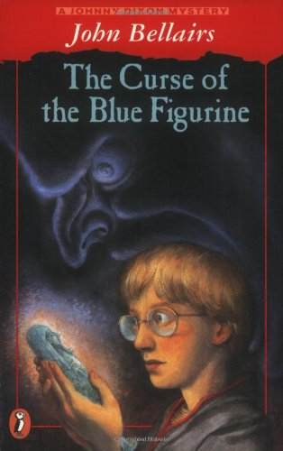 9780140380057: The Curse of the Blue Figurine: A Johnny Dixon Mystery