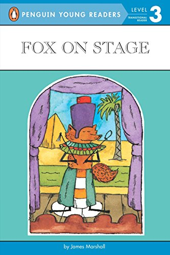 9780140380323: Fox on Stage (Puffin Easy-To-Read)