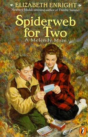 9780140383966: Spiderweb for Two: A Melendy Maze (Melendy Family)