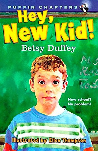 9780140384390: Hey, New Kid! (Puffin Chapters)