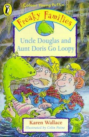 9780140387575: Freaky Families - Uncle Douglas & Au (Colour Young Puffin)