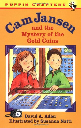 9780140389548: Cam Jansen: The Mystery of the Gold Coins #5