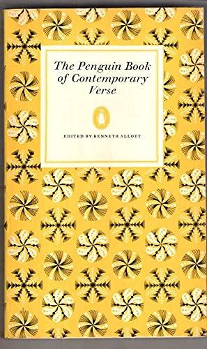 9780140420128: Penguin Book of Contemporary Verse (Poets)