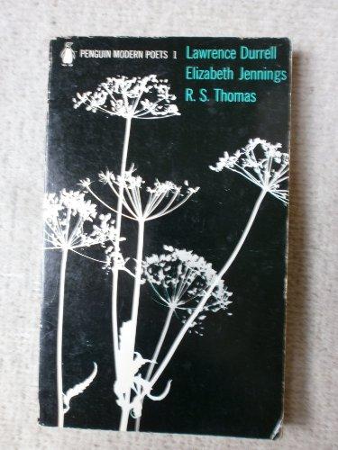 9780140420616: Penguin Modern Poets: L.Durrell, E.Jennings, R.S.Thomas Bk. 1