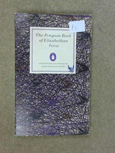Elizabethan Verse (Penguin Classics): Lucie-Smith, Edward