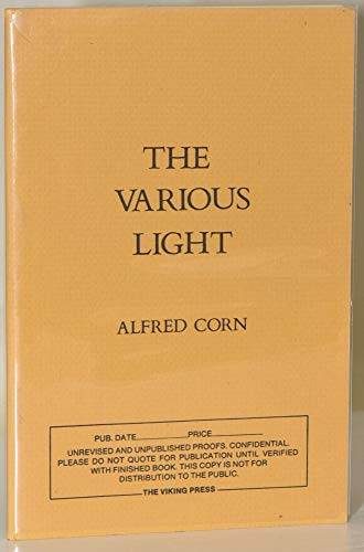 9780140422849: The Various Light