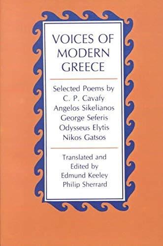 Odysseus Elytis Selected Poems: Keeley, Edmund and