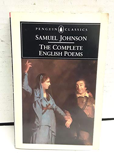 9780140422962: Complete English Poems, The (Johnson, Samuel) (Penguin Classics)
