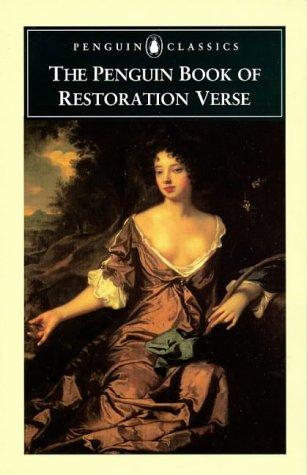 9780140424072: The Penguin Book of Restoration Verse (Penguin Classics)