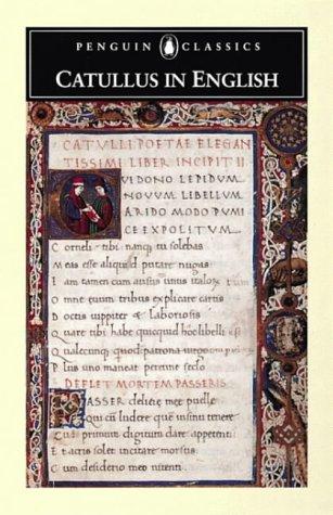 9780140424157: Catullus in English (Penguin Classics: Poets in Translation)