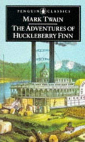 THE ADVENTURES OF HUCKLEBERRY FINN. EDITED WITH: TWAIN, MARK