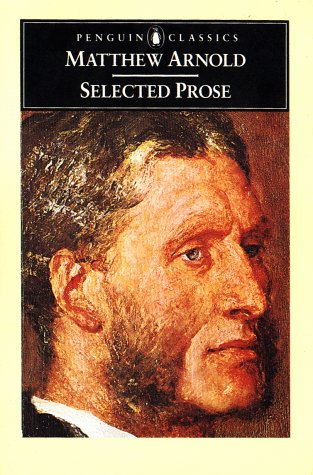 9780140430585: Arnold: Selected Prose (Penguin English library EL58)