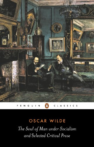 9780140433876: The Soul of Man Under Socialism and Selected Critical Prose (Penguin Classics)