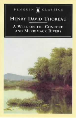 9780140434422: A Week on the Concord and Merrimack Rivers (Penguin Classics)
