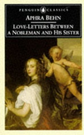 9780140435375: Love-Letters Between a Nobleman and His Sister (Penguin Classics)