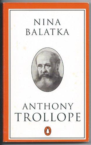 Nina Balatka (Trollope, Penguin): Trollope, Anthony