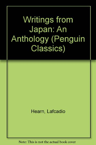 9780140439939: Writings from Japan: An Anthology (Penguin Classics)