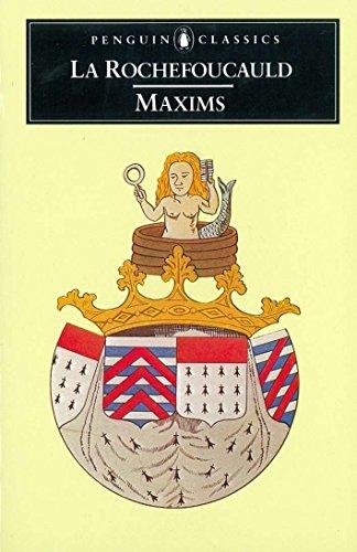 9780140440959: Maxims (Classics)