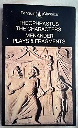 9780140441932: The Characters (Classics)