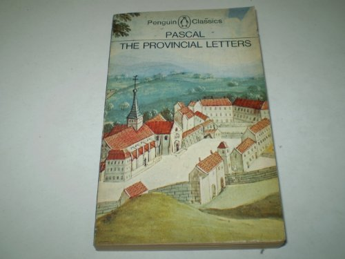 9780140441963: The Provincial Letters (Classics)