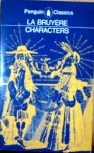 9780140442212: Characters (English and French Edition)