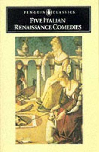 9780140443387: Five Italian Renaissance Comedies (Classics)