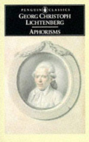 9780140445190: Aphorisms (Classics)