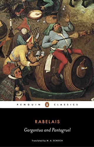 9780140445503: Gargantua and Pantagruel (Penguin Classics)