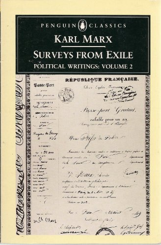9780140445725: Surveys from Exile: Political Writings, Vol. 2 (Penguin Classics)