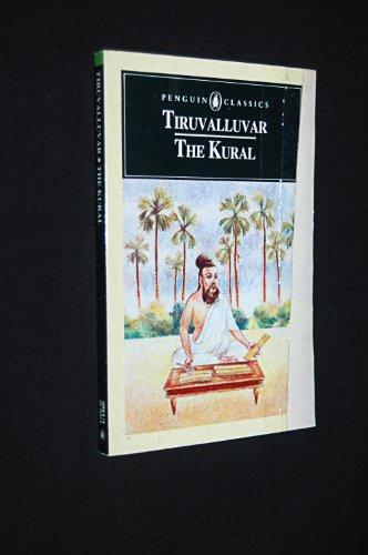 9780140445831: The Kural (Penguin Classics)