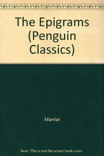 9780140448689: The Epigrams (Penguin Classics)