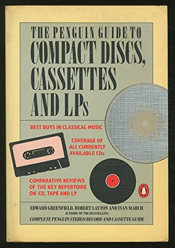 9780140467543: The Penguin Guide to Compact Discs, Cassettes and LPs (Penguin handbooks)