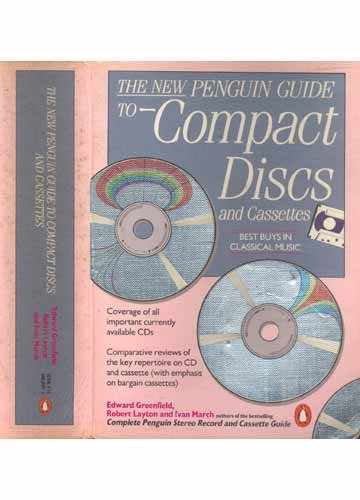 9780140468298: THE NEW PENGUIN GUIDE TO COMPACT DISCS AND CASSETTES.