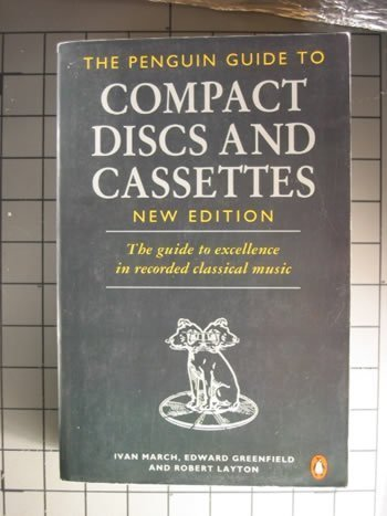 9780140469189: The Complete Penguin Guide to Compact Discs and Cassettes 1993: New Edition (Penguin Handbooks)